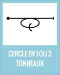 Cercle en 1 ou 2 tonneaux