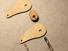 Commande elliptique : ajuster les diamètres des trous.
